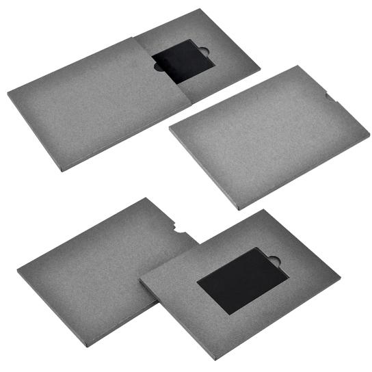 Коробка из дизайнерского картона с шубером (арт.КПК-2) цена за шт. – 452 руб.