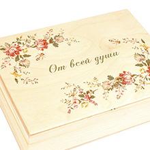 Печать по дереву (шкатулкам, коробкам, накладкам)