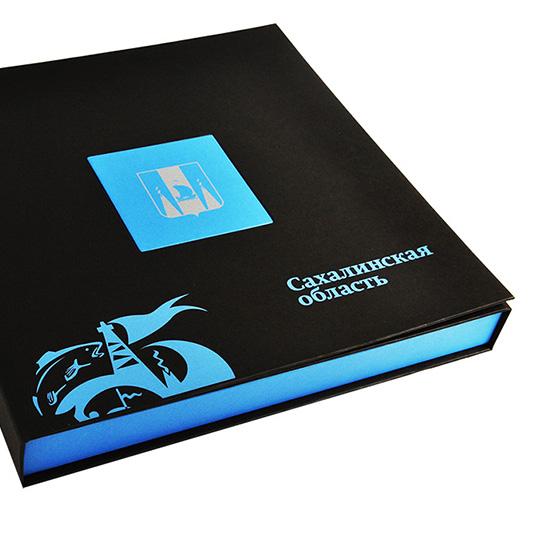 Шелкография в два цвета на упаковке