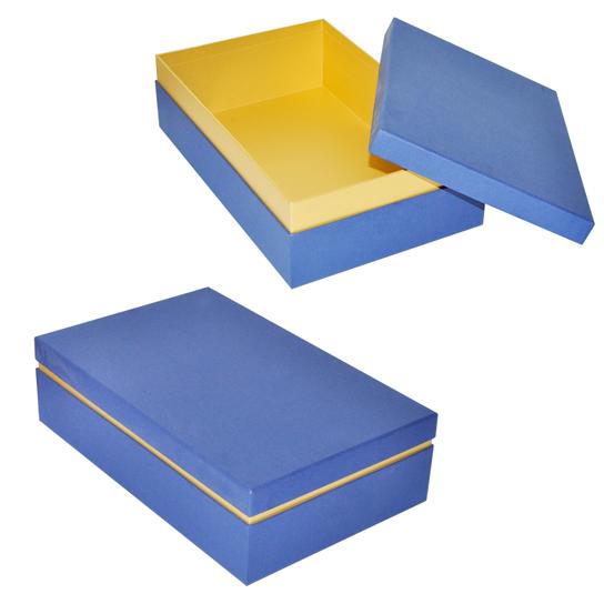 Подарочная коробка крышка-дно с высоким бортиком