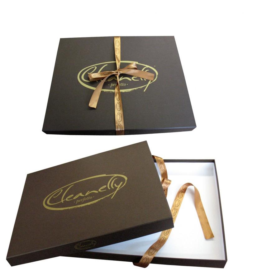 Подарочная коробка крышка-дно под постельное белье