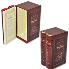 Эксклюзивная коробка-книга под элитный алкоголь