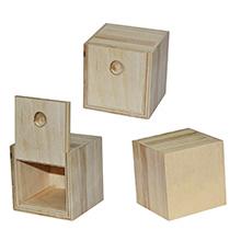 Мини-пенал деревянный