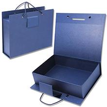 Коробка-чемодан с клапан-замком