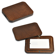 Подарочный футляр крышка-дно под карточку или флешку