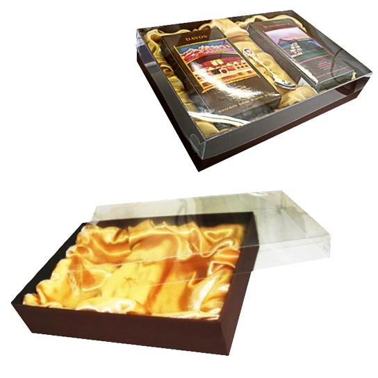 Подарочная коробка крышка-дно для кофе