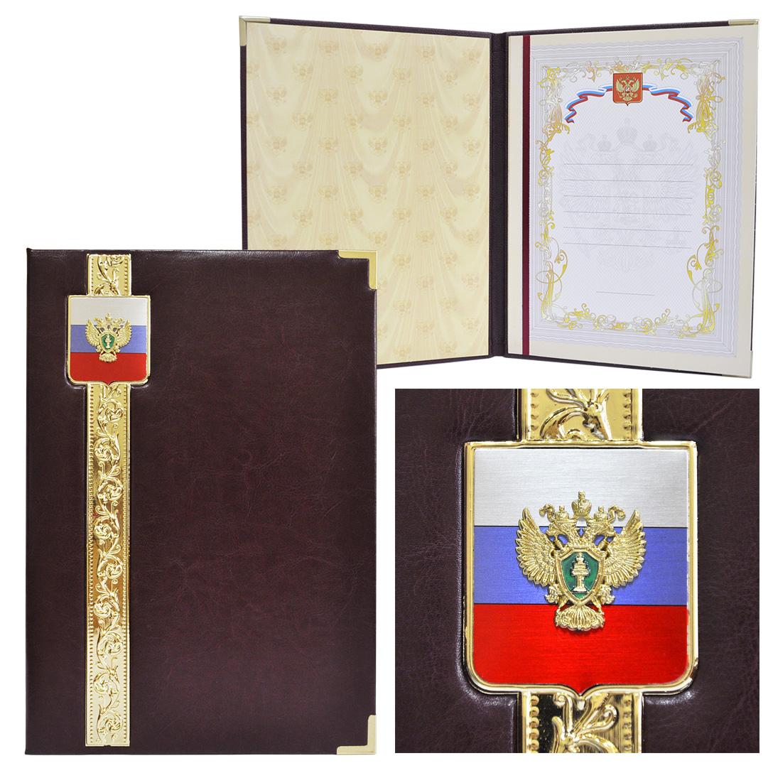 Представительская папка с гербом Прокуратуры РФ