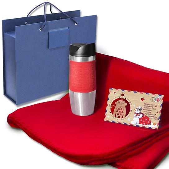 Подарочная коробка-чемодан под подарочный набор