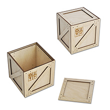 Коробка-ящик (малая) 95х95х95 мм. арт.КПП-8м