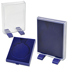 Футляр под медаль (с ножками, синий) арт. ФПМ-02с. Цена за шт. – 158 руб.