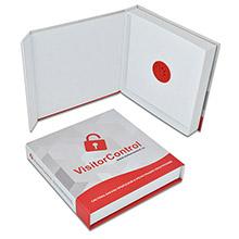 Коробка с клапаном на магните для диска