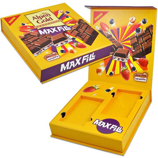 Коробка для шоколадной новинки