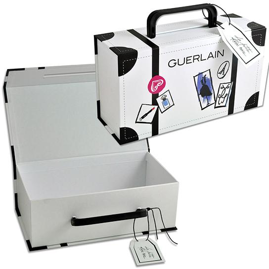 Коробка-чемодан для образцов фирменной косметики