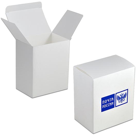 Упаковка из белого дизайнерского картона