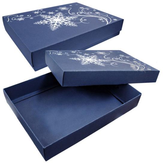 Самосборная коробка из дизайнерского картона