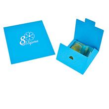 Самосборный конверт из дизайнерского картона