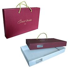 Коробка из МГК для постельного белья