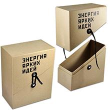 Упаковка крышка-дно с косым бортом