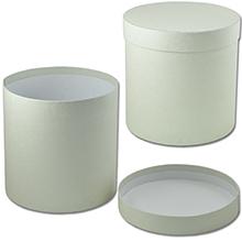 Круглая коробка с крышкой (арт. КДЦ-02/4) Цена за шт. – 168 руб.