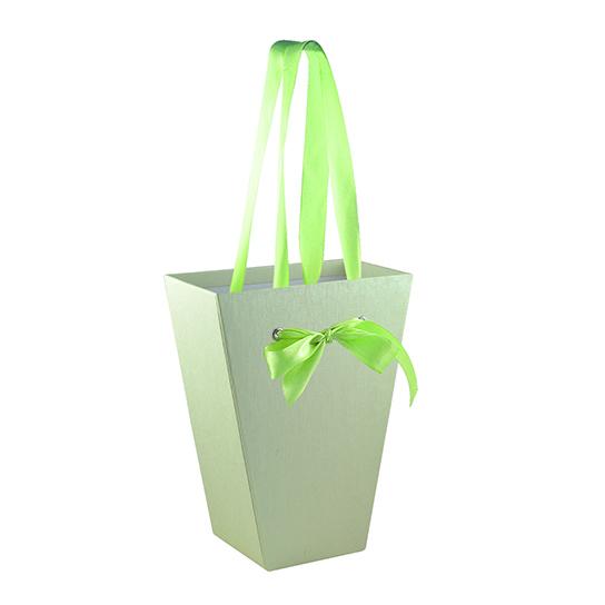 Картонная коробка для цветов, средняя (арт. КДЦЛ-03/2-2)