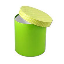 Круглая шляпная коробка, картонная