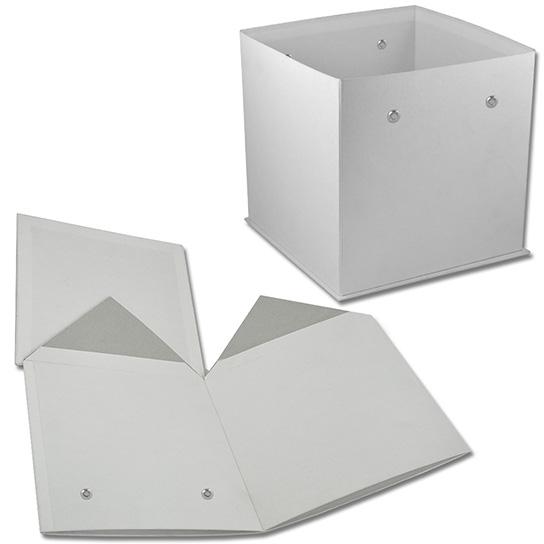 Коробка-куб с люверсами (арт.КДЦЛ-01/1) Цена за шт. – 178 руб