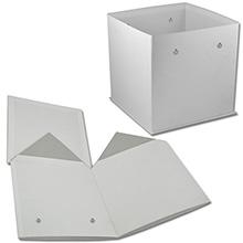 Коробка-куб с люверсами (арт.КДЦЛ-01/1)