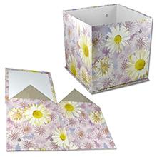 Складная коробка с люверсами под ручки (арт.КДЦЛ-01/2)