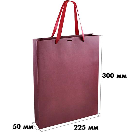 Пакет из эфалина (размер 225х50х300 мм) арт.ГПП-03