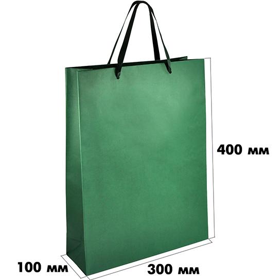 Большой бумажный пакет (размер 300х100х400 мм) арт.ГПП-05