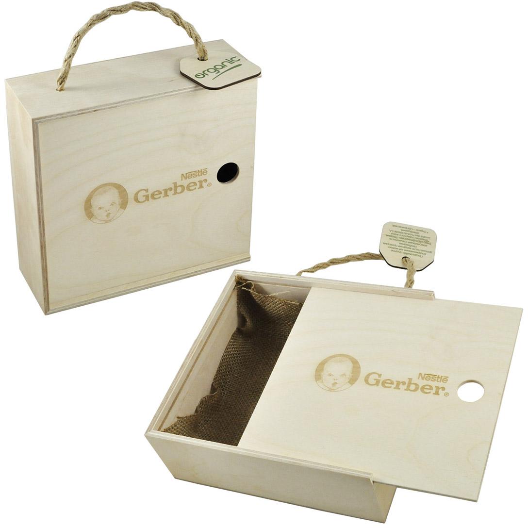 Коробка для рекламы продукции