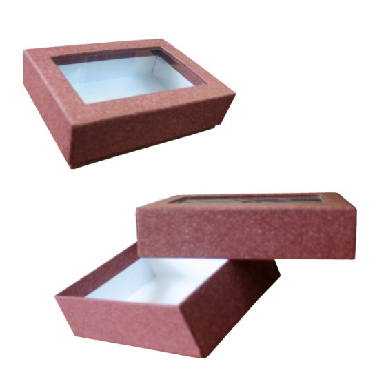 Подарочная картонная коробка для ювелирных украшений