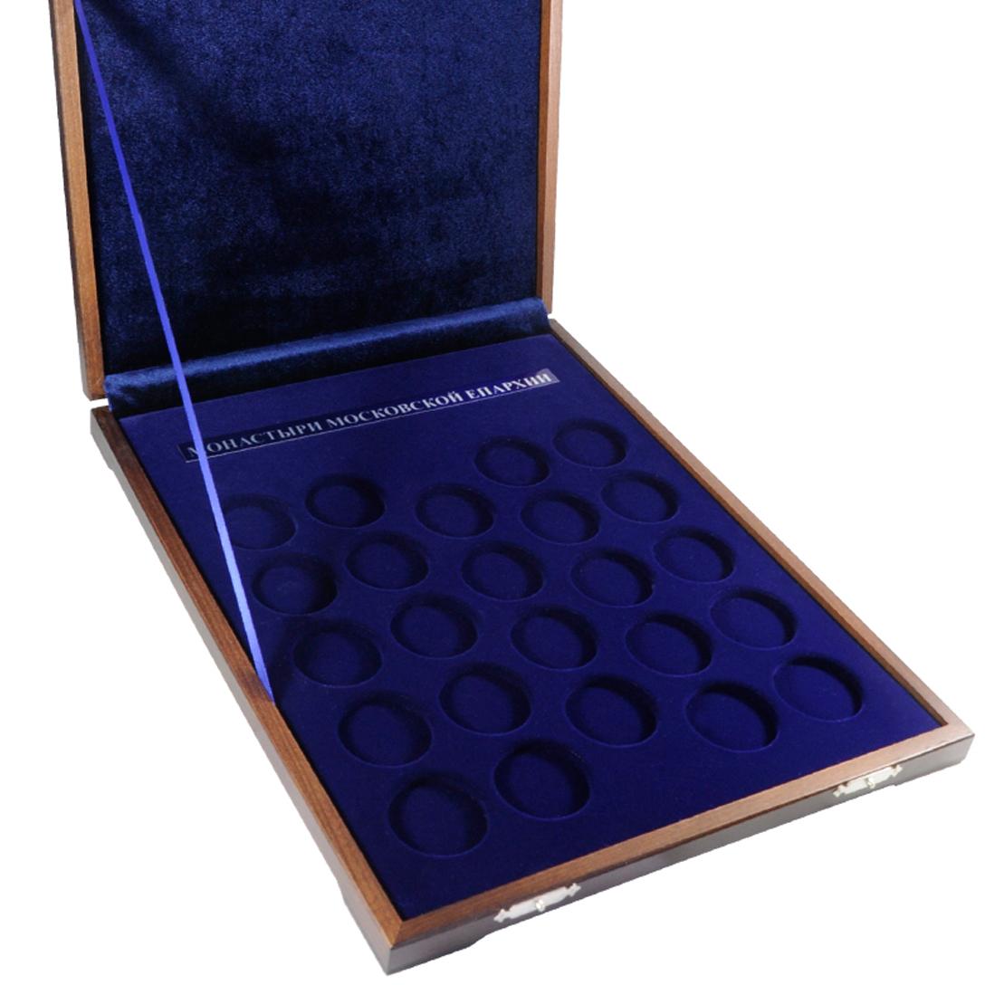 Флокированный блистер под монеты