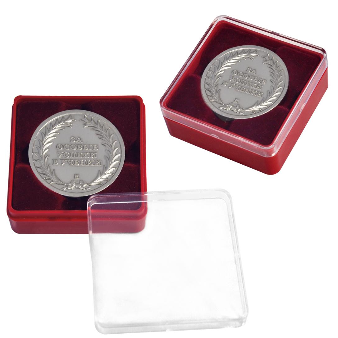Маленький флокированный блистер под одну монету
