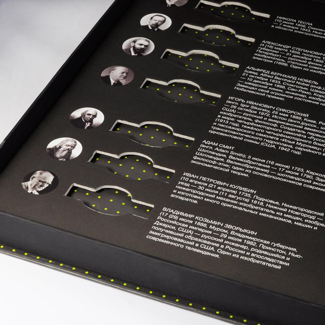 Вырубной ложемент из картона, кашированный полиграфией