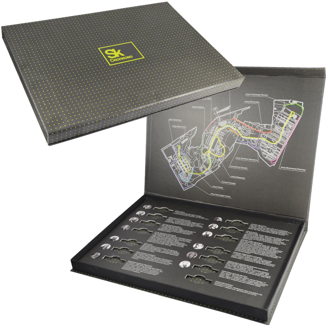 Кашированная коробка с вырубным ложементом