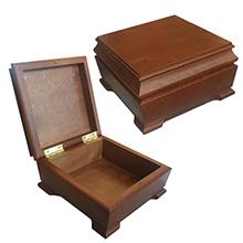 Подарочный деревянный короб