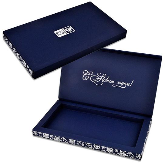 Коробка под шоколадки из дизайнерского картона