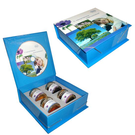 Подарочная коробка для меда
