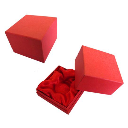 Подарочная коробка с бортиком для ювелирных украшений