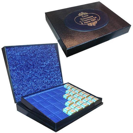 Подарочная именная коробка для конфет