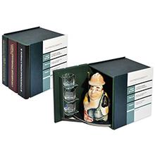 Подарочный футляр в виде книги из трех томов