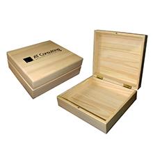 Подарочный деревянный короб из сосны