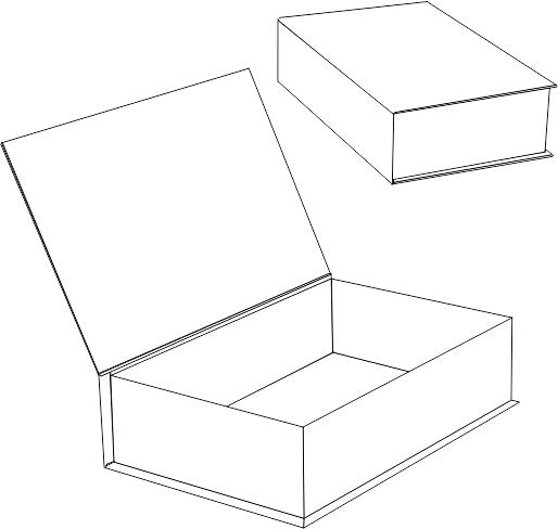 Рисунок как сделать коробку