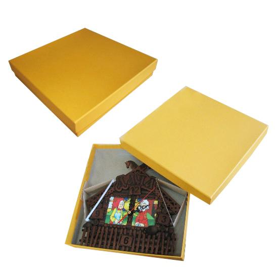 Подарочная картонная коробка под часы