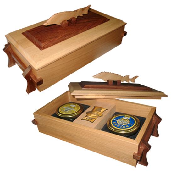 Упаковка для подарочного набора «Икра»