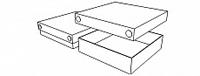 стандартная (крышка-дно) с прозрачной крышкой (A04)