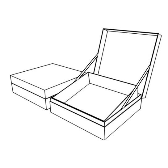 Подарочная коробка с подъемным механизмом