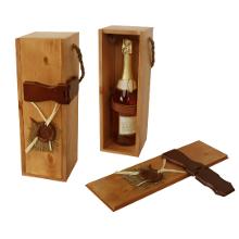 Подарочный деревянный пенал из сосны