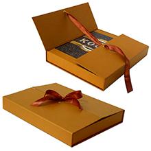 Подарочный короб для кофе и книги